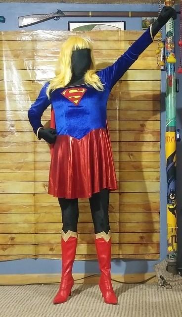 Dark supergirl takes flightsupergirl