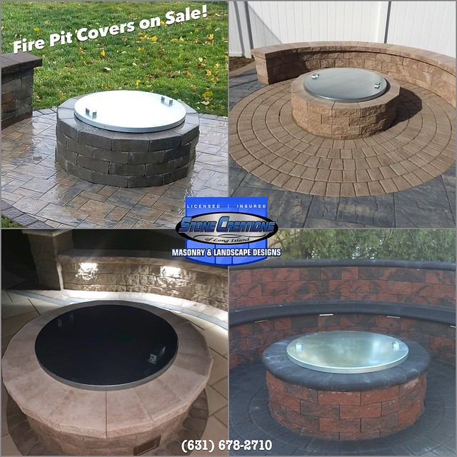 Firepit Covers - Stone Creations of Long Island