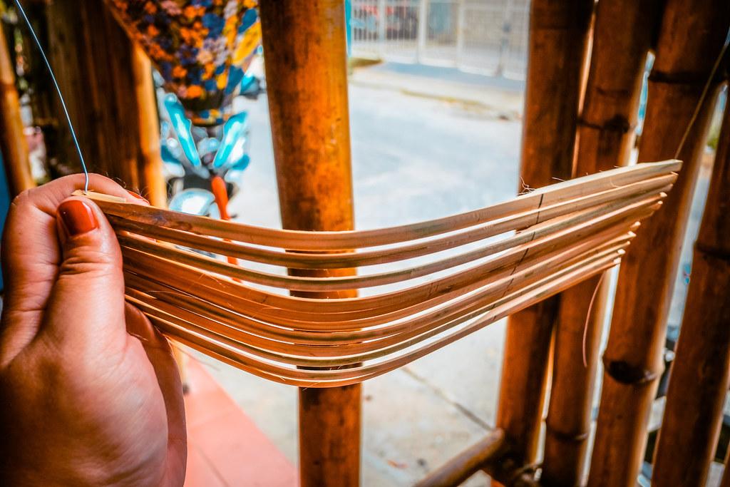Bending Bamboo Sticks