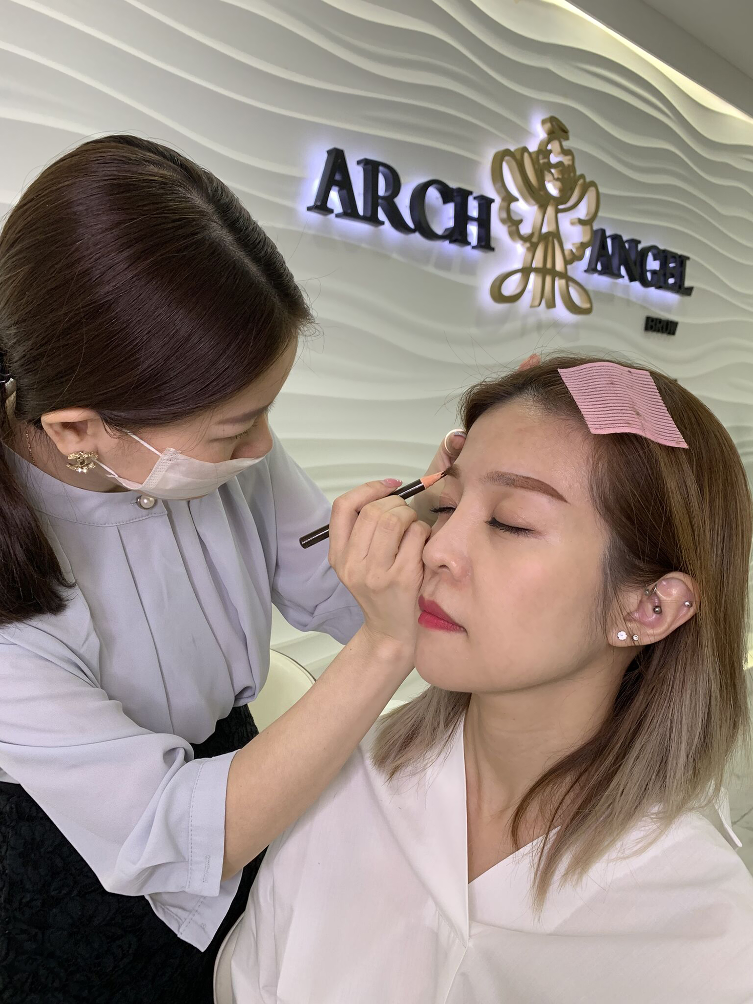 Best Eyebrow Embroidery Eyelash Extensions in Singapore Arch Angel Brow Review 3