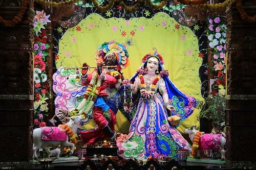 ISKCON Nigdi Deity Darshan 10 Nov 2019