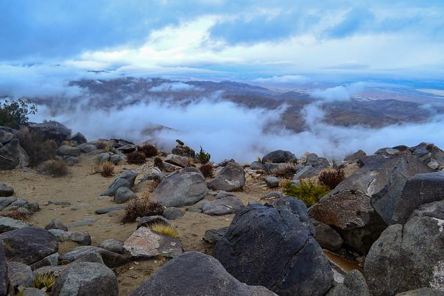 Key's View Misty Morning