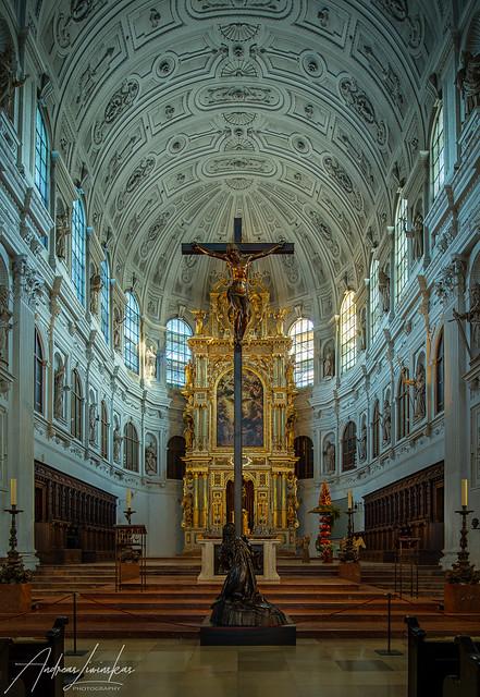 Chorraum St.Michael München / Munich