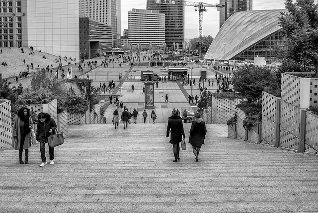 Escalier La Défense