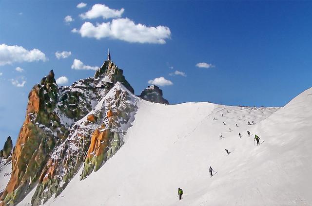 FRANCE - Alps - Aiguille du Midi