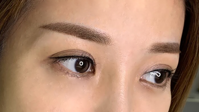 Best Eyebrow Embroidery Eyelash Extensions in Singapore Arch Angel Brow Review 4