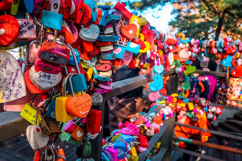 Locks of Love at Namsan Tower | Things to do in Itaewon