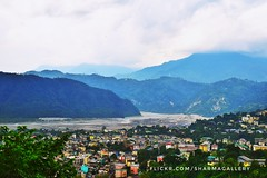 #Bhutan #sky #blue #cloud #cloudysky #river #mountain #nikon #nikonindia