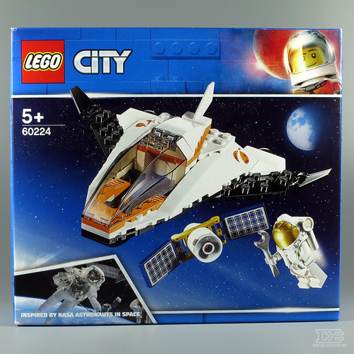 LEGO CITY 60224 Satellite Service Mission-1 | by DoubleBrick.ru