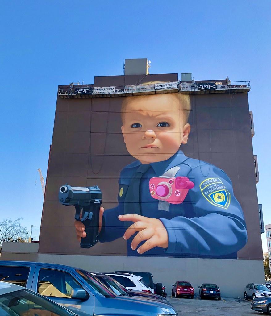 Mural in Hayes Valley, San Francisco