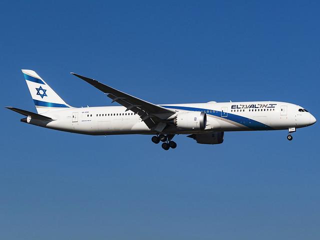 El Al Israel Airlines   Boeing 787-9 Dreamliner   4X-EDE