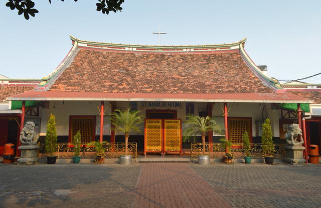 Catholic church in Chinatown