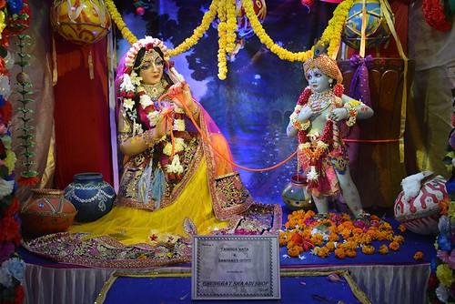 ISKCON Ujjain Deity Darshan 10 Nov 2019