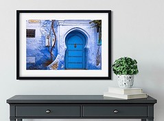 I shot this gorgeous blue door on a photography holiday with @leefrostphotography back in 2007 early one morning in beautiful blue Chefchaouen and it's been a regular seller in my #etsyshop ever since. A nice big print of it will be heading to it's new ho
