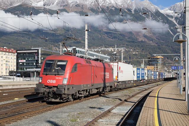 ÖBB 1016 004 Innsbruck Hbf