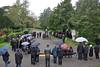 Gedenkfeier am Billeder Denkmal auf dem Karlsruher Hauptfriedhof