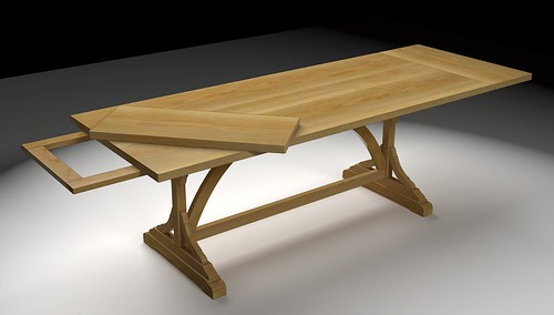 Pine Extension Table | by Dave_R_