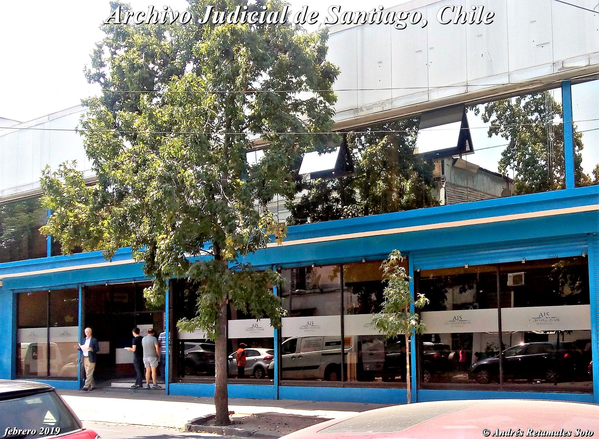 Archivo Judicial de Santiago, Chile, febrero 2019. ⚖️🆑 Andrés Retamales - copia