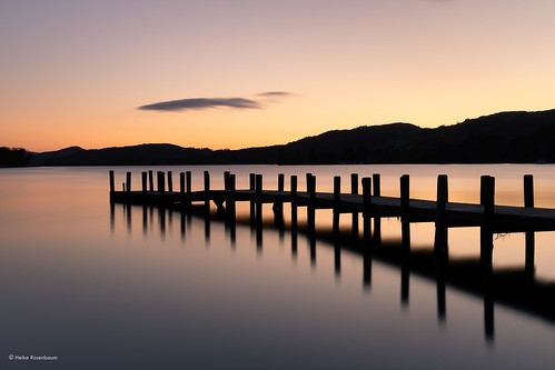 2019 lakedistrict coniston conistonwater jetty monkconistonjetty sunset lakeland uk england lake water silhouette serene serenity peaceful longexposure lzb langzeitbelichtung southlakelanddistrict reflection splittoning