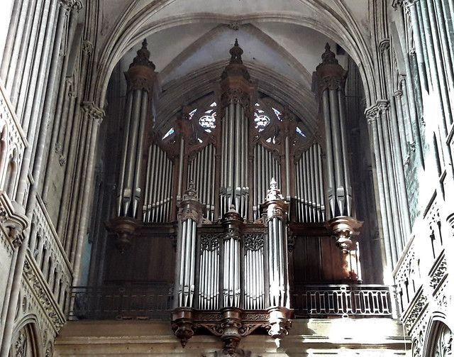 Bayeux - Orgue de tribune Cavaillé-Coll - 1862
