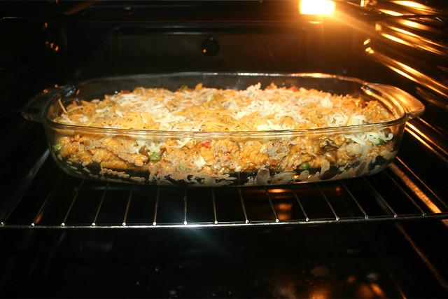 15 - Im Ofen überbacken / Gratinée in oven