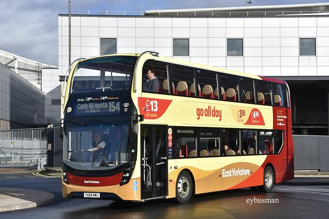 Go Ahead East Yorkshire 914, YX69NMJ.