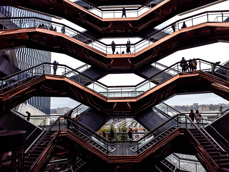 Walk In New York - Hudson Yards - The Vessel - Thomas Heatherwick