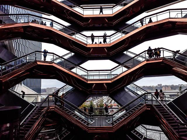 Walk In New York - Hudson Yards - The Vessel - Thomas Heatherwick