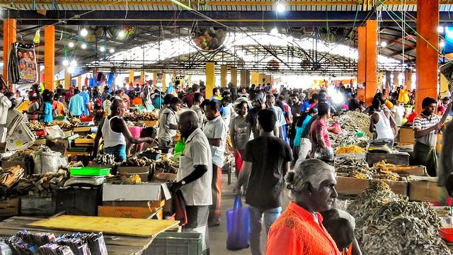 Busy Sunday Market