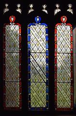 nave glass (Ward & Hughes, 1860s)