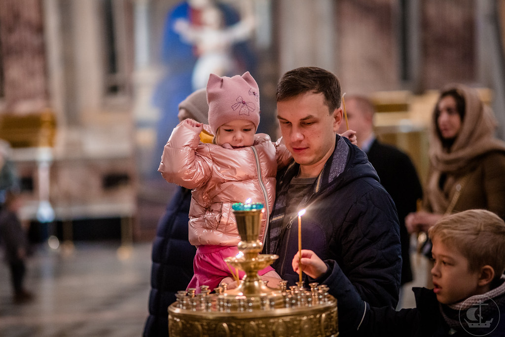 10 ноября 2019, Литургия в Исаакиевском соборе / 10 November 2019, Divine Liturgy in the Saint Isaac's Cathedral