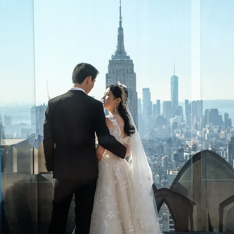Walk In new York - Mariage au Top Of The Rock avec comme seul Temoin l Empire State Building 02