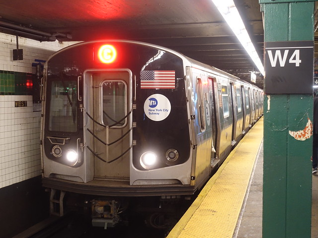 201910106 New York City subway station 'West Fourth Street–Washington Square'