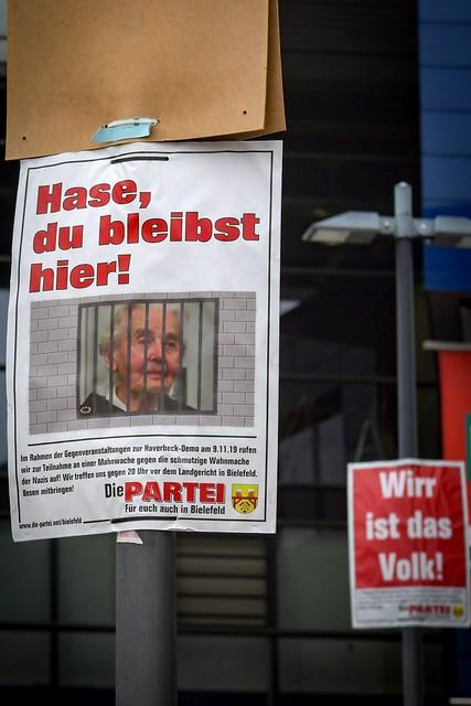 Neonazi-Demo für Ursula Haverbeck Bielefeld