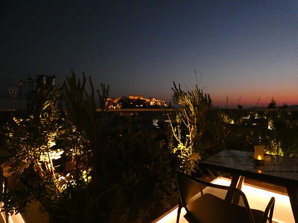 l'Acropole depuis l'hôtel Electra
