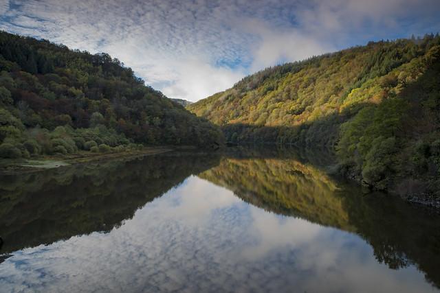 Gorges de la Dordogne,fin d'automne