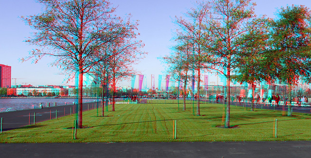 Wilhelminakade Kop van Zuid Rotterdam 3D