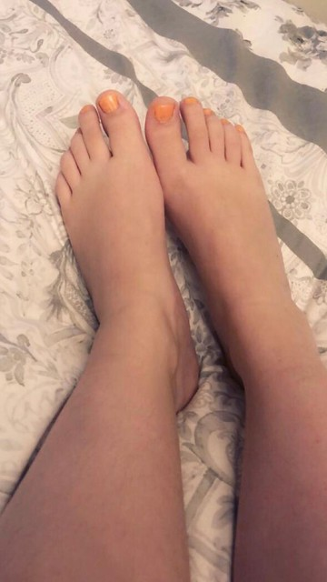 Who would like to give me a foot massage? 😉