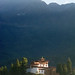 First ray of faith    #Bhutan #architecture #travel #landscape #morning #firstray #monastery  #ancient #building