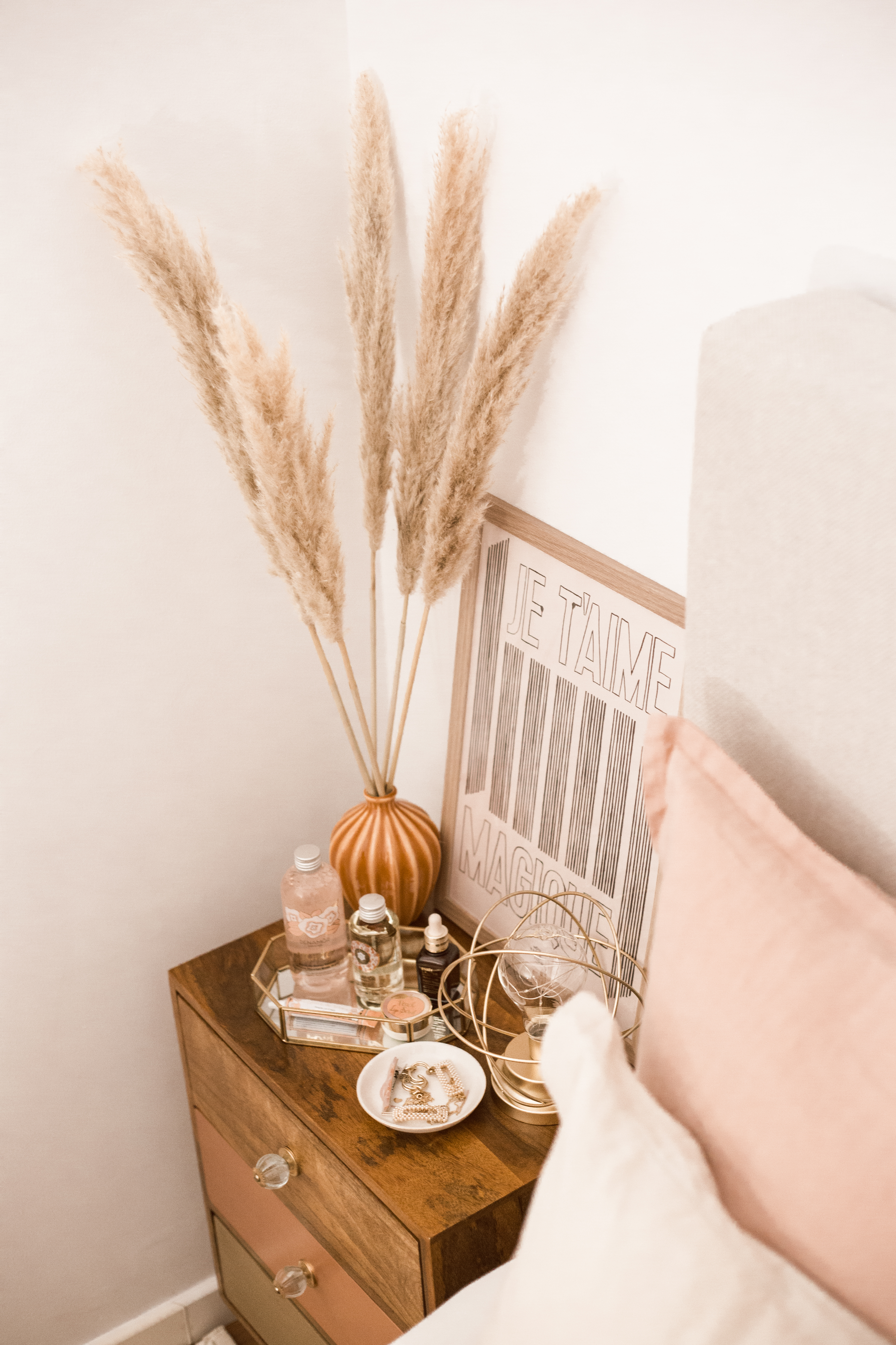 styling a bedside table