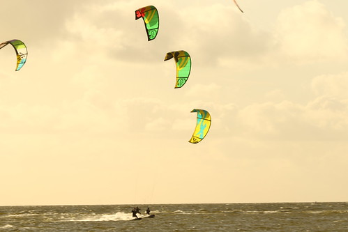 Kitesurfing Workum