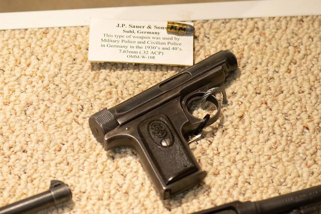 J.P. Sauer & Sons military police pistol