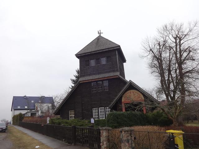 1915/16 Frankfurt/O. Heilandskapelle russische Kirche von Kriegsgefangenen in sibirischer Bauweise Eichenweg 40-41 in 15234 Klingetal