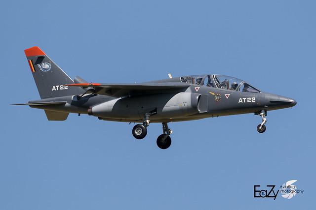 AT-22 Belgium Air Force Dassault-Dornier Alpha Jet 1B