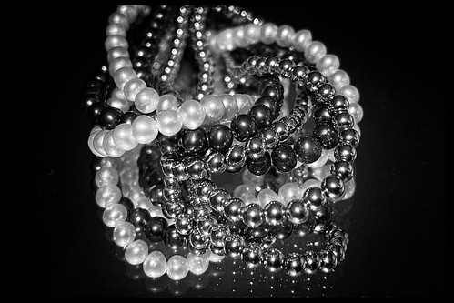 Reflected pearls