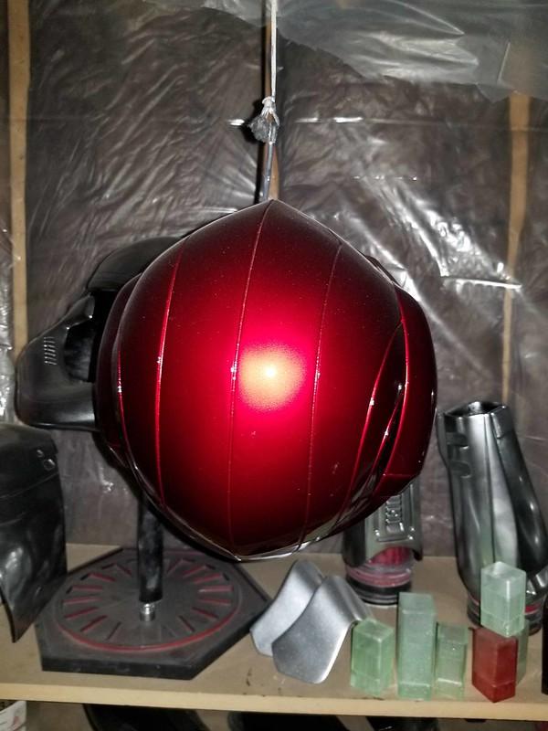 Samus Helmet Progress 006