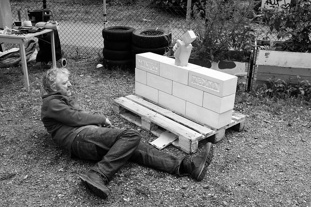 the sculpturer