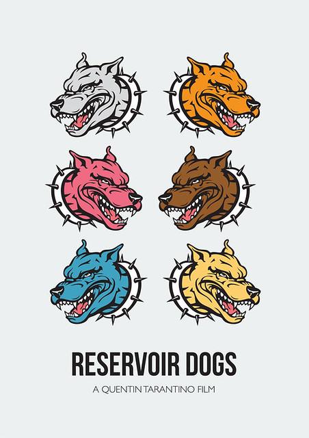 Reservoir Dogs - Alternative Movie Poster