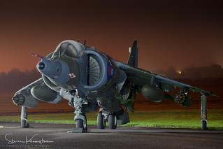 XZ991 - British Aerospace Harrier GR3A