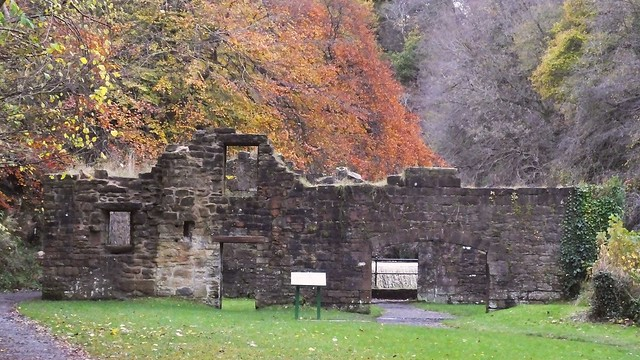 The Ruins of the Palace of Autumn Leaves